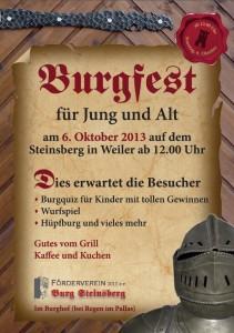 Burgfest für Jung und Alt
