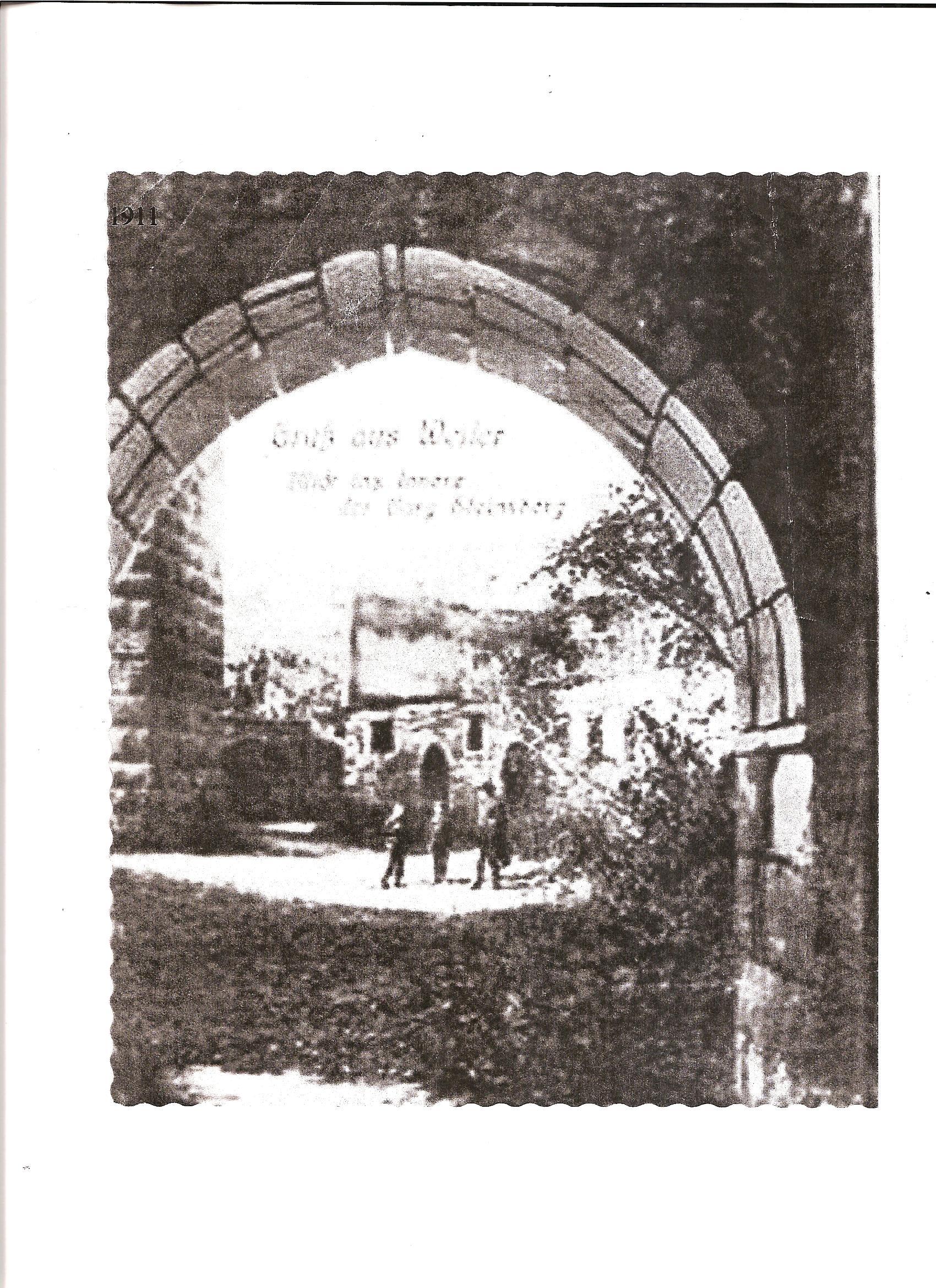 Burg Steinsberg antik  Stich30